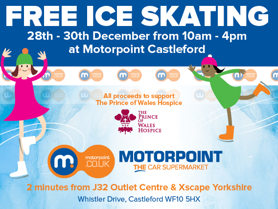 Take to the ice this Christmas