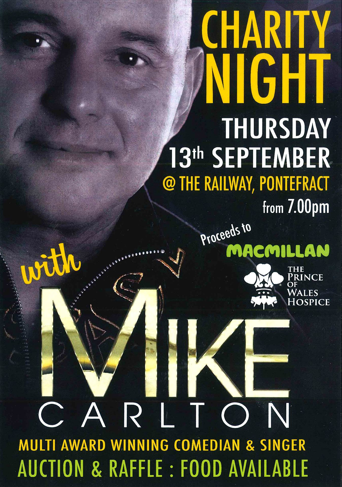 Charity Night with Mike Carlton