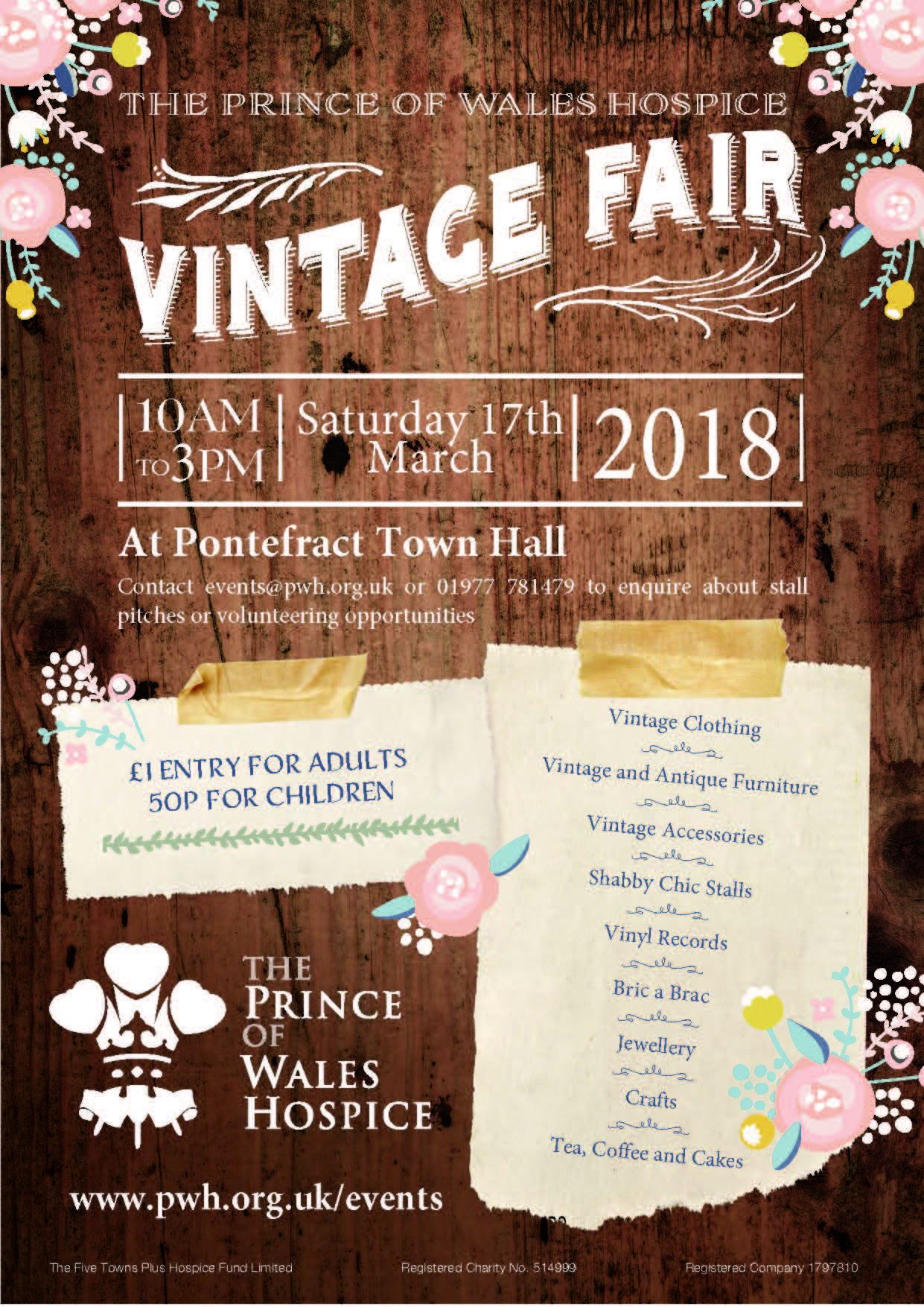 Prince of Wales Hospice Vintage Fair