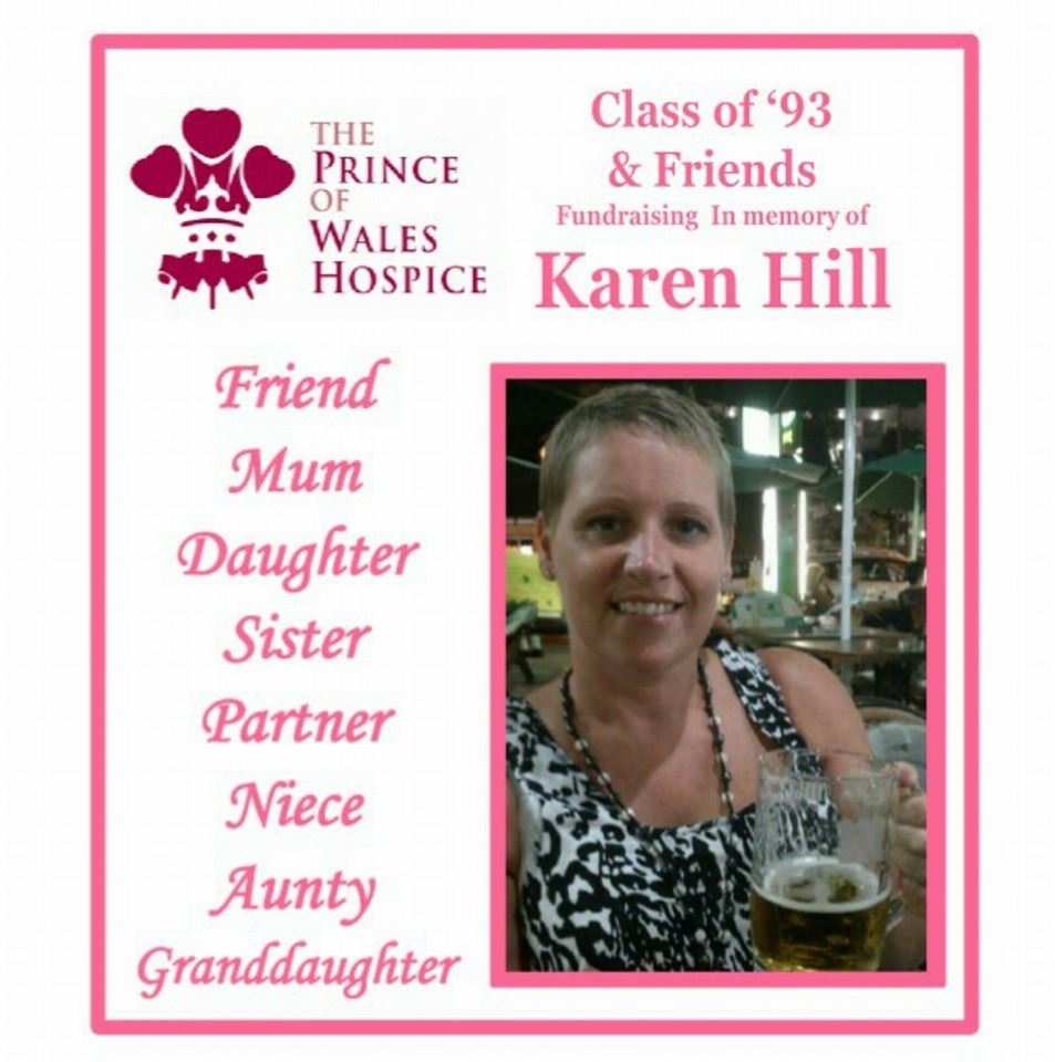 Class of '93 & Friends Fundraising in Memory of Karen Hill