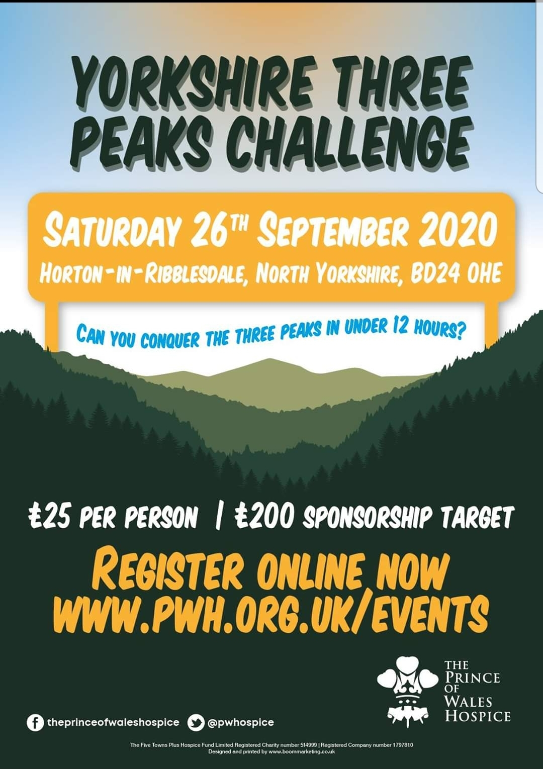 Dawn Smith's Yorkshire 3 Peaks