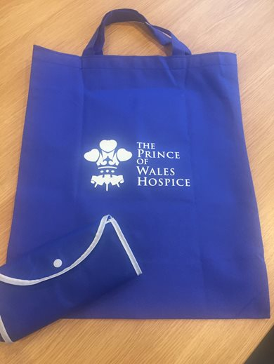 Charity Foldable Shopping Bag