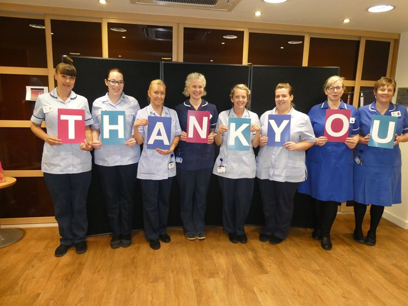G3 celebrates Nurses' Day with £40,000 pledge to sponsor a nurse.